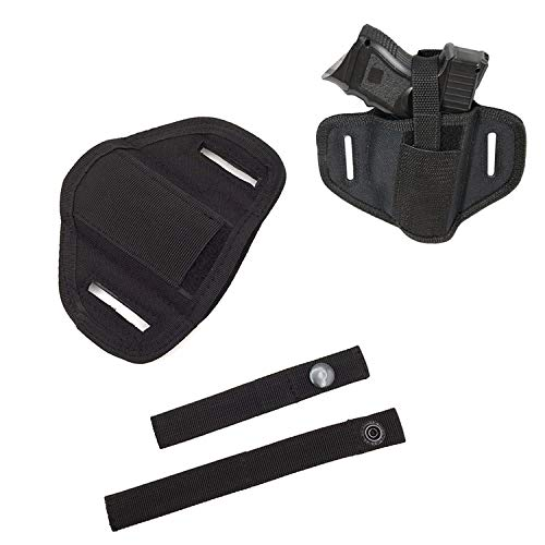 Veelzijdige Belt Holster voor 6 Positie Ambidextrous Concealment Holster voor Compact Subcompact Handguns Verborgen Belt Holster voor Right Left Hand Draw