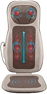 HoMedics Pro Performance Back Massage Cushion with Subtle Heat | Intense Shiatsu Neck & Back Massage with Vibration, Kneading & Programmable Controller