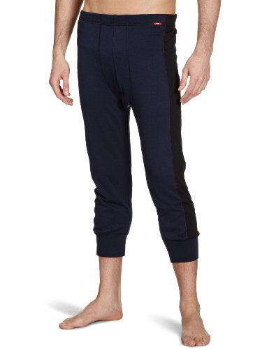 Huber - Bas Thermique - Homme - Bleu (Deep Navy 7398) - Large (Taille Fabricant: 6)