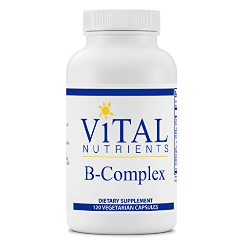 Vital Nutrients - B-Complex - Balanced High Potency B Vitamin Complex - Supports Energy Production, Metabolism and Heart Health - 120 Vegetarian Capsules