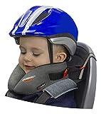 SANDINI SleepFix Kids BIKE – Cojín cervical con función de sujeción y compensación de temperatura - Accesorio de asiento infantil para bicicleta - Evita que la cabeza de su hijo caiga mientras duerme