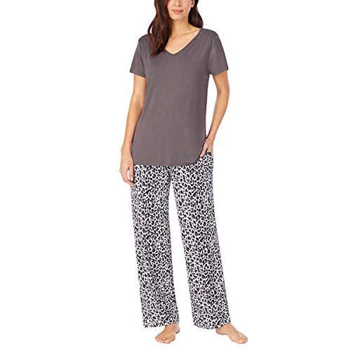 Carole Hochman Midnight Women's 2 Piece Super Soft Pajama Set (Tan, m)