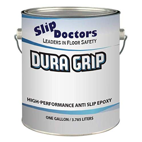 Non-Slip Textured Paint, Barefoot & Pet Friendly to Reduce Slip and Falls