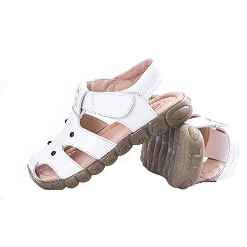 Eagsouni Unisex Kinder Sandalen aus weichem Leder - 4