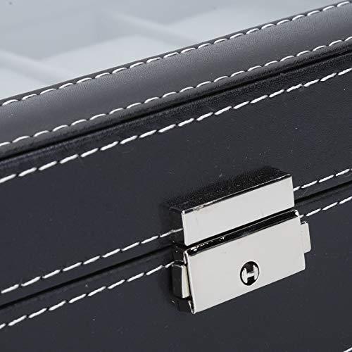 Caja de almacenamiento, caja de reloj Bellamente formada Exquisita apariencia para familiares y amigos para regalos