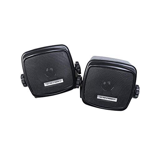 Auto Choice Estilo Retro Coche Audio Hi-Fi Altavoces Estéreo Estante Soporte con Soporte