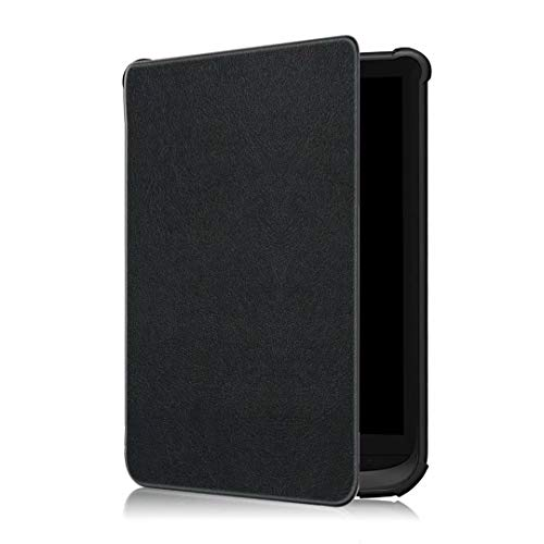 VOVIPO Funda para Pocketbook Touch HD 3 / Touch Lux 4 / Touch Lux 5 / Basic Lux 2 / Color (2020) e-reader - Funda ultra fina con cierre magnético