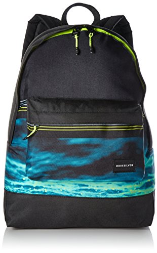 Quiksilver Spring Summer 2038 Casual Daypack, 60 cm, 16 L, Virdiana Green Water Fade