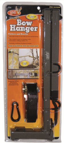 HME Products Better Strap-On Bow Hanger , Olive, 2.10 x 7.00 x 16.00