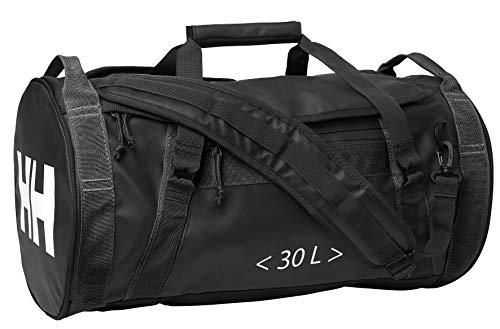 Helly Hansen HH Duffel Bag 2 30L Bolsa de Viaje, Unisex Adulto, Negro