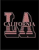 【FOX REPUBLIC】【LA ロサンゼルス カリフォルニア ロゴ】 黒光沢紙(フレーム無し)A3サイズ