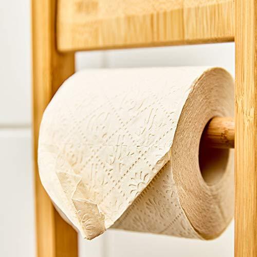 bambuswald© nachhaltiges Toilettenpapier aus 100% Bambus | 8x Rollen á 200 Blatt - 3 lagig sanft trocken & angenehm weich | holzfreies Klopapier in plastikfreier Verpackung | WC-Papier Toilet Paper - 7