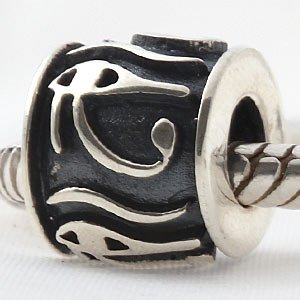 Antique Charms Authentic 925 Sterling Silver Flower Beads Charm fit for Pandora Charms Bracelets