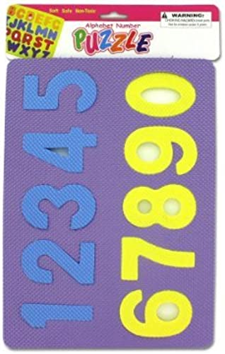 Number and alphabet foam puzzles - Pack of 48 by bulk buys