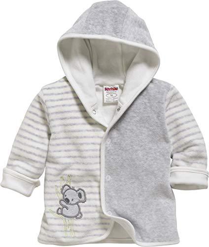 Schnizler Baby-Unisex Jäckchen Nicki Ringel Koala Jacke, Beige (Natur 2), (Herstellergröße: 80)