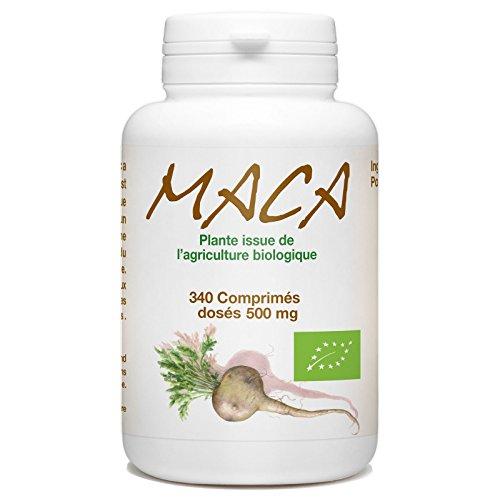 I-Organic Maca evela ePeru 500mg - Amathebhulethi angama-340