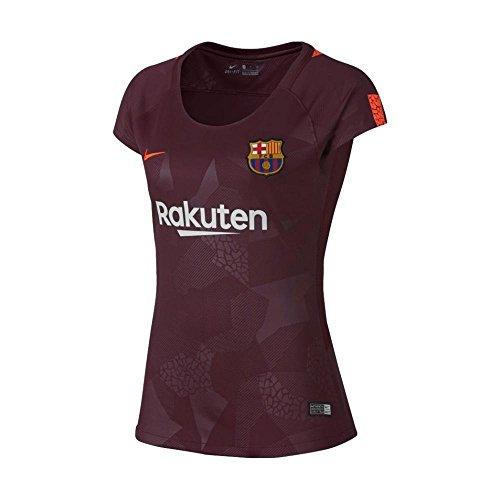 Nike Womens FC Barcelona Stadium Jersey [Night Maroon] (L)