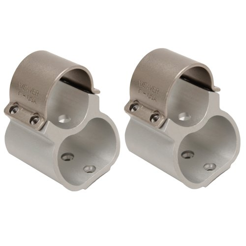 Fantastic Deal! WEAVER 49734, Rings, See-Thru, Sym Cap, Rgr 10/22, Stainless Steel