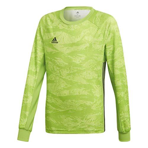 adidas adiPro 19 Goalkeeper Jersey- Boy's Soccer XS Semi Solar Green