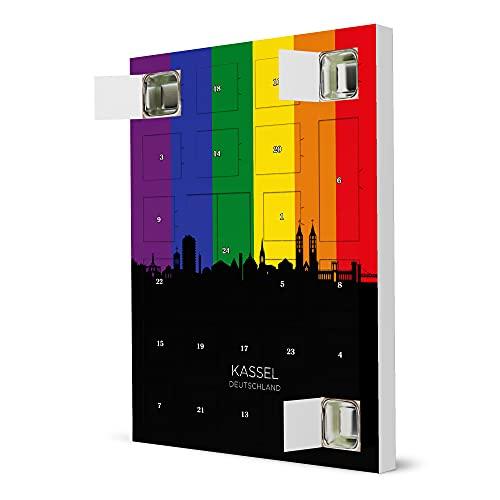 artboxONE Adventskalender zum Selbstbefüllen Kassel Germany Skyline Pride Adventskalender Städte