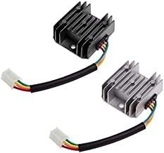 [ Daphot - Store ] - 1Pc ATV GY6 50 150cc Scooter 4 Wires Voltage Regulator Rectifier Motorcycle Boat