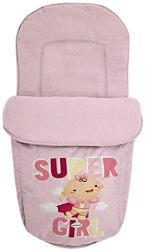 Baby Star 25506 – Sac pour siège universelle, couleur ROSE