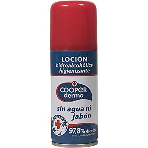 Higienizante manos locion spray 100ml