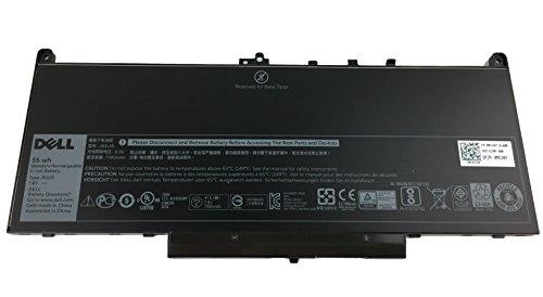 Mejor J60J5 Laptop Battery for Dell Latitude E7270 E7470 Series 451-BBSY 451-BBSX 451-BBSU ; P/N:WYWJ2 MC34Y 0MC34Y 1W2Y2 242WD Notebook 7.6V 55WH crítica 2020