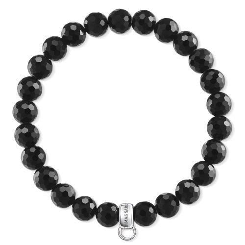 Thomas Sabo Damen-Armreifen Künstliche Perle X0220-840-11-L17,5