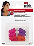 3M 92050 TEKK Protection Disposable Ultra Soft Earplugs - 4 Pair per Package by AOSafety