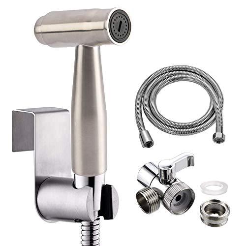 Handmatige bidetdouchekop, met kwaliteit messing omstelling voor keuken of badkamer spoelbak M22 X M24, 2-weg kraan omstelling of keuken / spoelbak / kraan