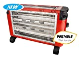Oreva ORQH-1214 Quartz Room Heater (Red)