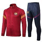 Club de Manga Larga, Uniforme de fútbol, Chaqueta Deportiva, Chaqueta Completa con Cremallera, Multicolor, tamaño S-XL @ 3_S
