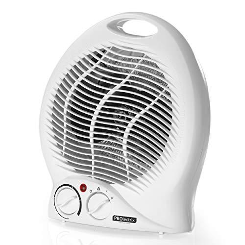 Beldray® EH0567SJAWFOBGERVDE Rundlüfterheizung   Einstellbare Temperaturregelung   2000W   Rutschfeste Füße   Überhitzungsschutzfunktion   Tragbar   Ideal für Büros, Schlafzimmer, Küchen und mehr