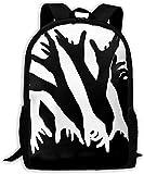High-Capacity Unisex Adult Backpack Impressive Opticals Bookbag Travel Bag Schoolbags Laptop Bag