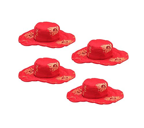 4Pcs Rot, Reizende Haustier-Topee Tierzubehör Für Kleine Hunde, Katzen