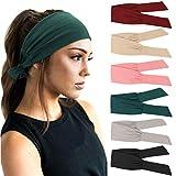 Photo Gallery dreshow 6 pezzi donna fasce per capelli da yoga allenamento sportivo fasce per capelli accessorio per capelli carino
