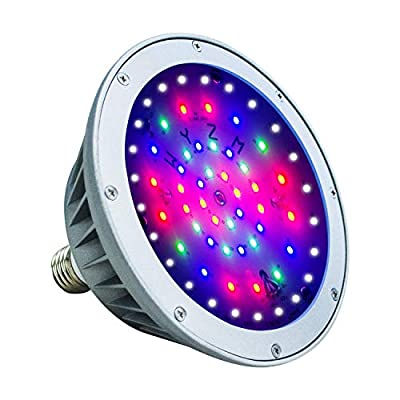 WYZM Waterproof LED Pool Light for Inground Swimming Pool,120V 40W,Color Changing,Fit for Pentair and Hayward Pool Light Fixture