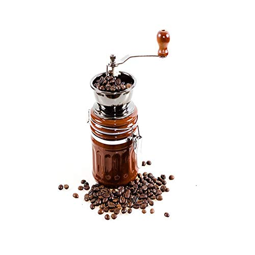 Z-COLOR Manual Coffee Grinder, Professional Coffee Mill with The Best Ceramic Burr, Adjustable for Precision Grinding and Perfect