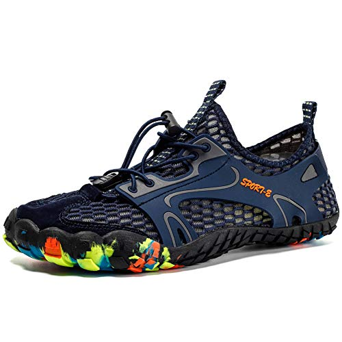 Zapatos de Agua Hombre Mujer Zapatos de Deportes Acuaticos para Buceo Snorkel Surf Playa Natación Yoga Antideslizante Secado Rápido