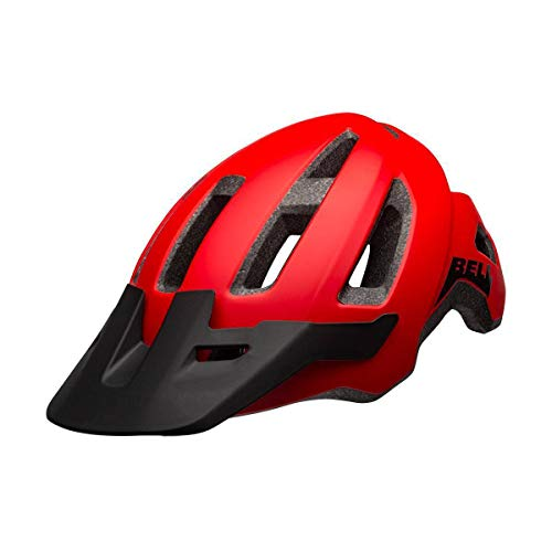 BELL Nomad, Casco Unisex, Matte Red/Black, One size