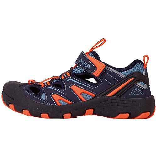 Kappa REMINDER T Outdoor-Schuhe für Teenager │ geschlossene Sandalen mit fester Sohle │ mit Klettverschluss und Schnürkordel │ Mix aus Sneaker & Sandale für Mädchen und Jungen │ in den Größen 36 - 51