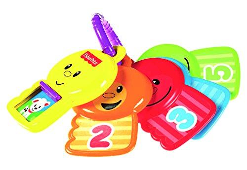 Mattel Fisher-Price Y4294 - Zahlenspaß Schlüssel, zum Zählen und Entdecken