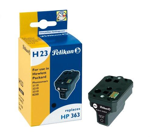 Pelikan 354822 - Cartucho de tinta HP Photosmart 8250, 3110, 3210-363 - NEGRO