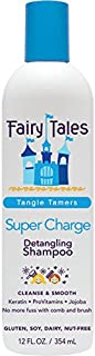 Best Fairy Tales Tangle Tamer Super Charge Detangling Shampoo for Kids - Paraben Free, Sulfate Free, Gluten Free, Nut Free - 12 oz Review