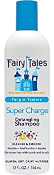 Fairy Tales Tangle Tamer Super Charge Detangling Shampoo for Kids - Paraben Free Sulfate Free Gluten Free Nut Free - 12 oz