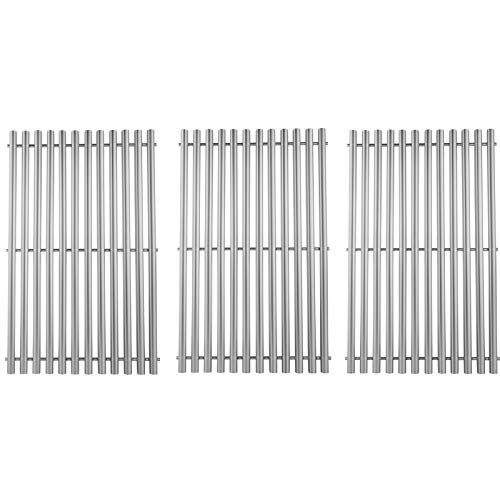 AJinTeby 17' Cooking Grates Replacement for Charbroil Tru-Infrared 463242715, 463242716, 463276016 Nexgrill 720-0882S Charbroil 463242715, 463242716 (Stainless Steel)