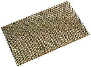 Experimentierplatine KEMO. 2.54er-Punktraster. 100x160 mm
