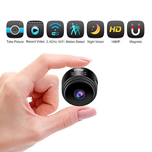 Wisdomlife Hidden Camera Mini Spy Camera