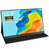 UPERFECT Portable Monitor 13.3'' Computer Display [100% sRGB High Color Gamut] 1920×1080 USB C...
